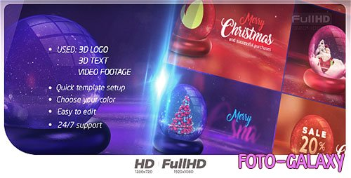 Christmas Opener 20916733 - Project for After Effects (Videohive)