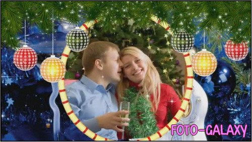 Проект ProShow Producer - Christmas 3D-Frames