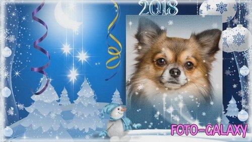 Проект ProShow Producer - Новогодняя поздравительная открытка