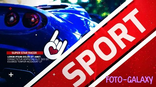 Sport Race Opener 56122 - After Effects Templates