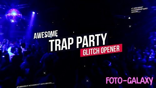 Modern Trap Party Opener 56385 - After Effects Templates