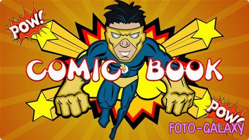 Проект ProShow Producer - Comic Book 2