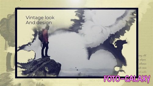 Ink Memories Slideshow 58376 - After Effects Templates