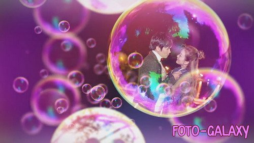 Bubbles Slideshow - After Effects Template