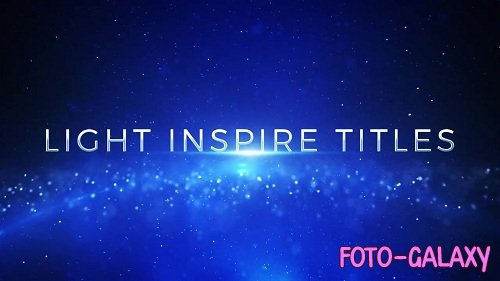 Light Inspire Titles 58238 - After Effects Templates