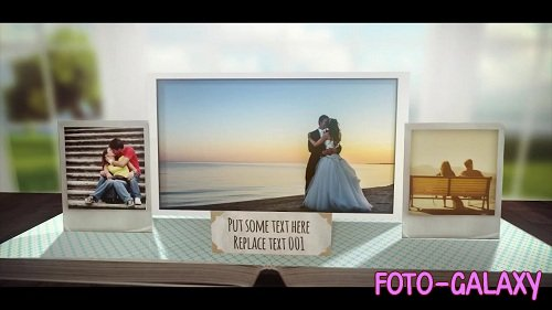 3D Pop Up Photo Book 65015 - After Effects Templates