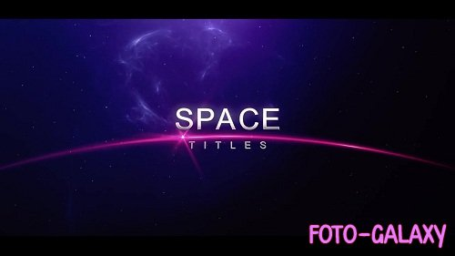 Space Titles 58818 - After Effects Templates