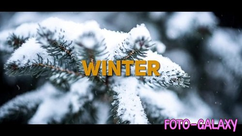 Energetic Dynamic Winter Slideshow - After Effects Templates