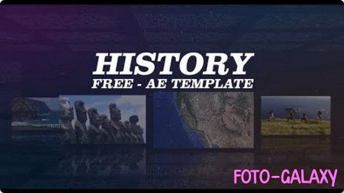 History - After Effects Template