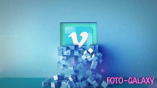 Falling Cubes Logo 65749 - After Effects Templates