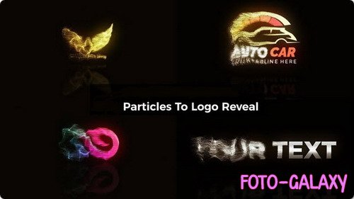 Particles To Logo Reveal - After Effects Templates