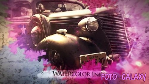 Ink Flow Parallax Slideshow - After Effects Templates