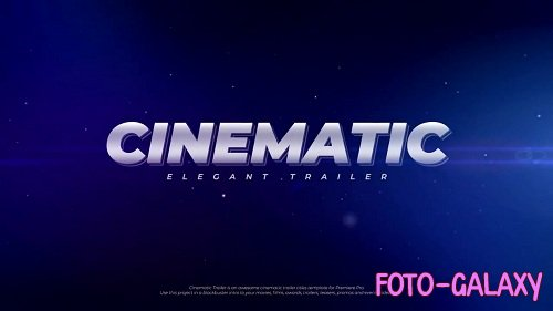 Cinematic Trailer 69229 - Premiere Pro Templates