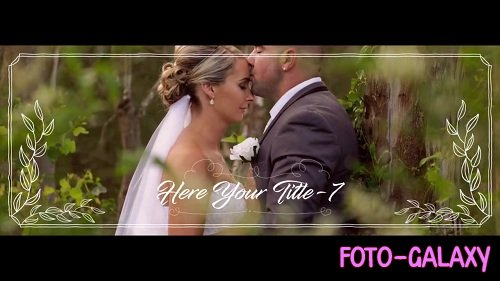 Facebook Cover - Wedding Style 82448 - After Effects Templates
