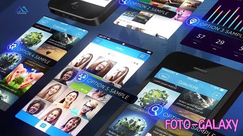 Phone App Presentation - After Effects Templates