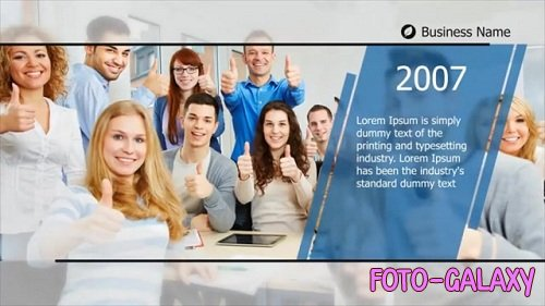 Simple Corporate Timeline - After Effects Templates