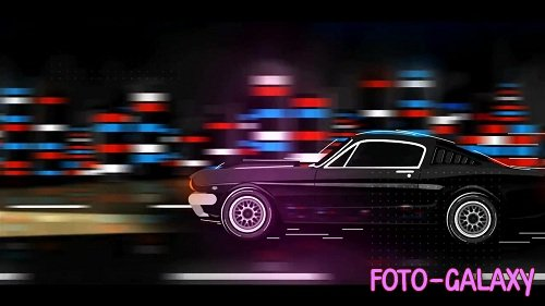 Mustang Cartoon Logo 86705 - After Effects Templates