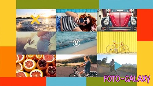 Summer Slideshow 86434 - After Effects Templates