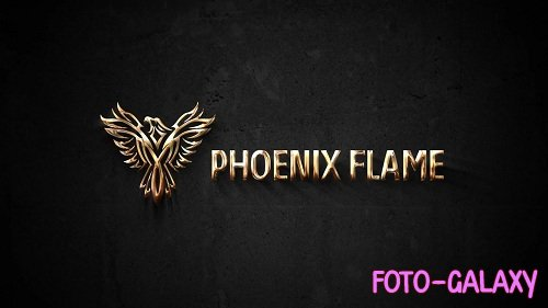 Simple Gold Logo 74951 - After Effects Templates