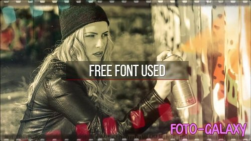 Grunge Filmstrip Slideshow 86826 - After Effects Templates