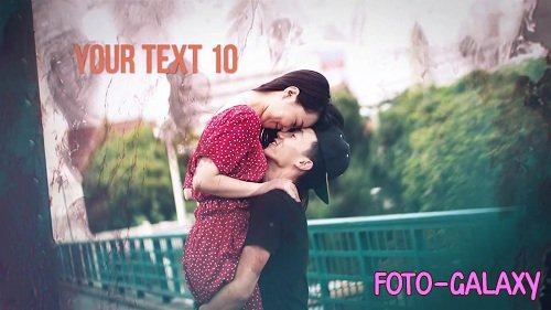 Ink Photo Slideshow 78835 - After Effects Templates