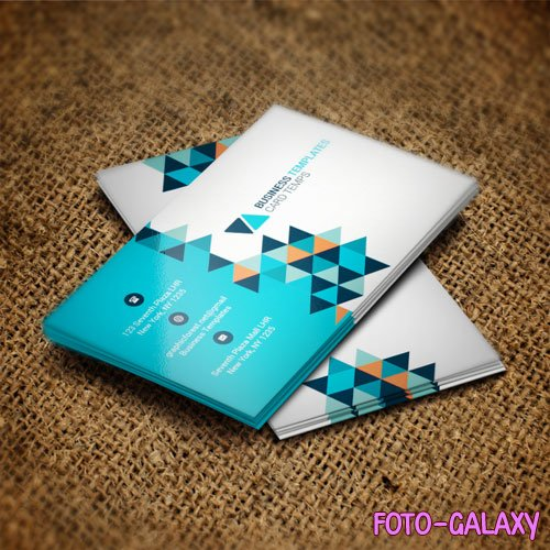 Blue pixel - business card