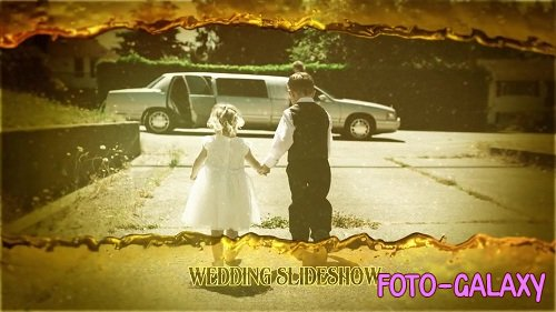 Romantic Gold Wedding Slideshow 88472 - After Effects Templates