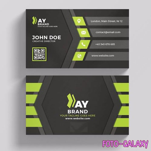 Creative director - business card