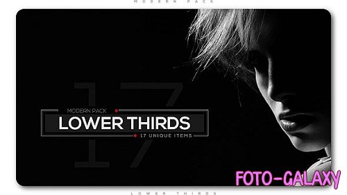 Modern Lower Thirds Pack 20876714 - Project for After Effects (Videohive)