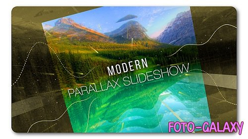 Slideshow Modern Parallax - Project for After Effects (Videohive)