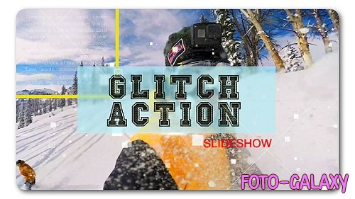 Glitch Action Slideshow - Project for After Effects (Videohive)