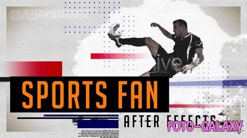 Sports Fan - Project for After Effects (Videohive)