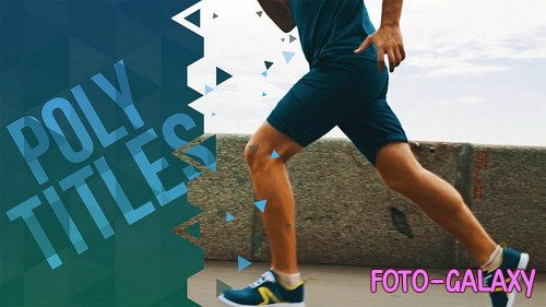 Poly Titles - After Effects Templates (RocketStock)
