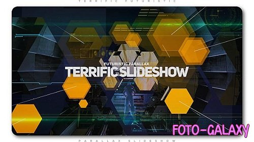 Terrific Futuristic Slideshow - Project for After Effects (Videohive)