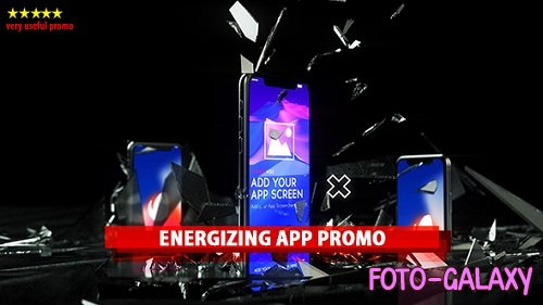 Energizing App Promo - Project for After Effects (Videohive)