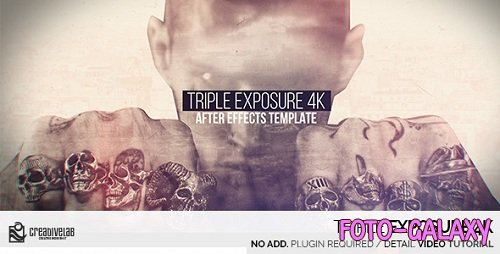 Triple Exposure 4K - Project for After Effects (Videohive)