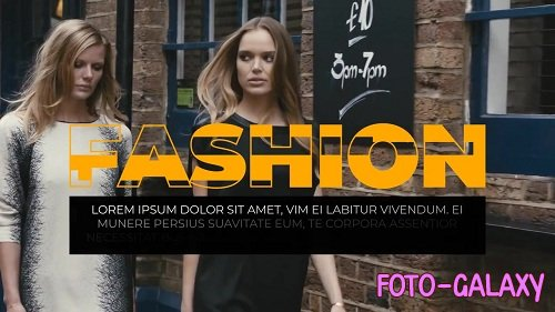 Fashion Promo 89805 - After Effects Templates