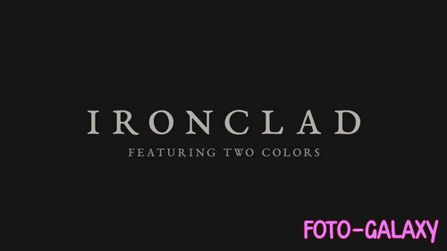 Ironclad Logo Reveal - Project for After Effects