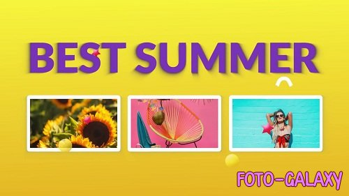 Summer Slideshow 89801 - After Effects Templates