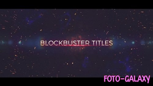 Epic Trailer Opener 82197 - After Effects Templates
