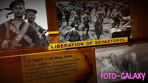 The History Slideshow WAR 2 - After Effects Templates