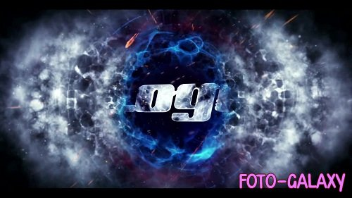 Energetic Epic logo V69 - After Effects Templates