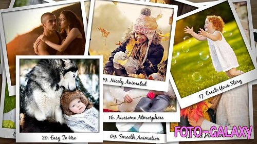 Falling Polaroid Photos 97704 - After Effects Templates