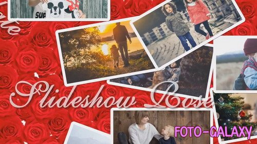 Проект ProShow Producer - Slideshow Rose