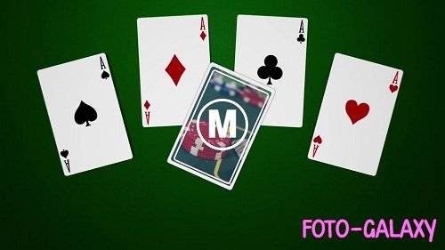 Playing Cards Logo 78105 - After Effects Templates