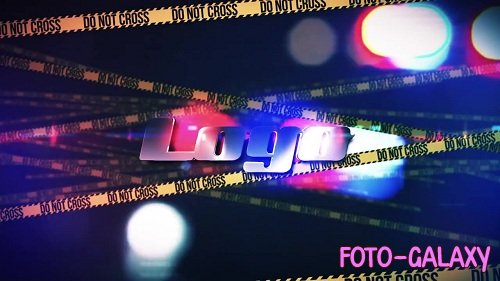 Crime Scene Logo Reveal 99635 - After Effects Templates