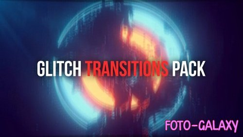 Glitch Transitions Pack 93787 - After Effects Templates