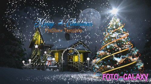 Проект ProShow Producer - Christmas Opener V.02