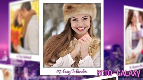Polaroid Photo Slideshow 096390544 - After Effects Templates