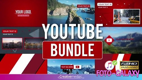 Youtube Bundle 097159990 - After Effects Templates